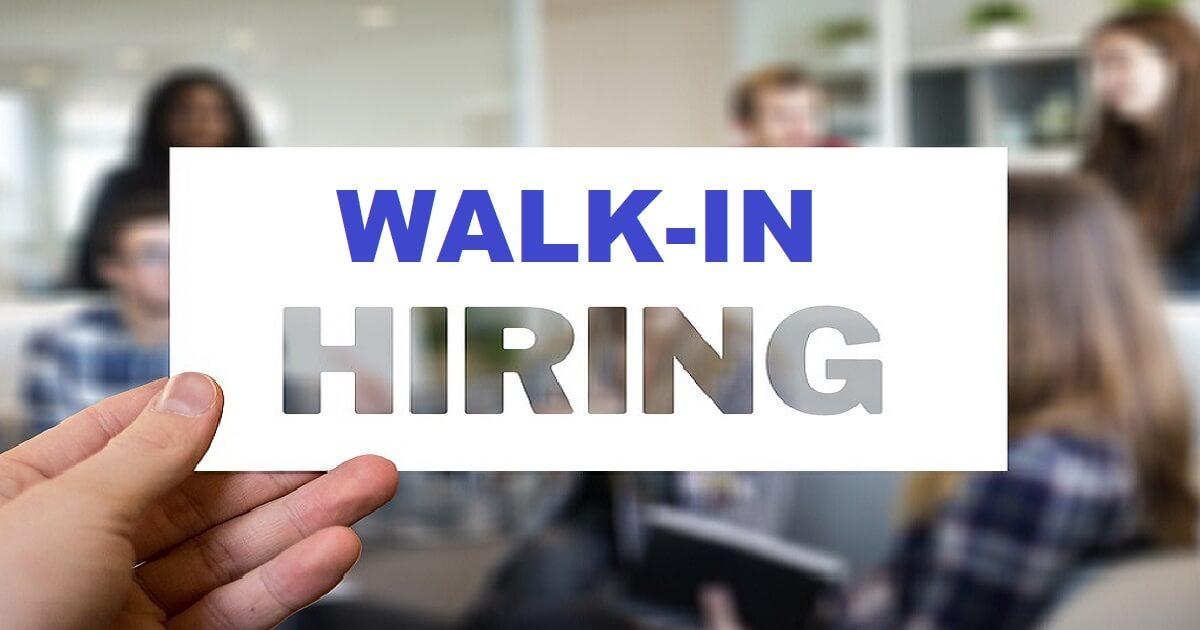 New Walkin Job